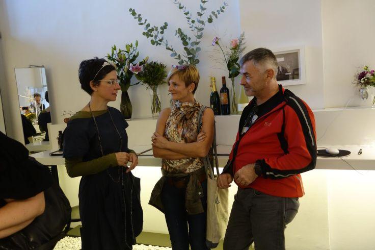 Gäste im Gespräch Schmuck-Künstlerin Andrea Schmidt Dortmund Lebensschmuck Galerie 05