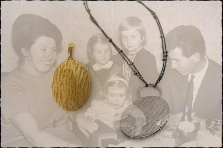 Medaillon Familienschmuck neu gemacht Andrea Schmidt